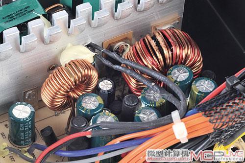 低压滤波电路部分主要看电感线圈