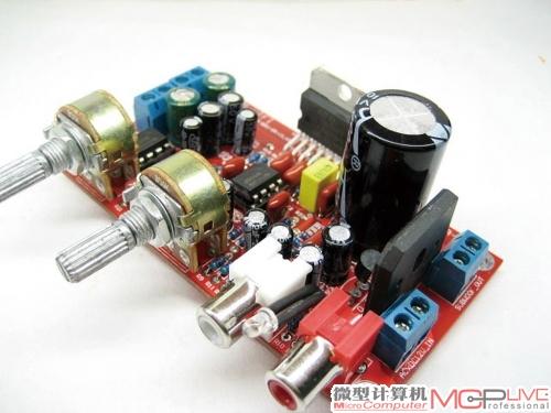 tda7377三声道低音炮功放板